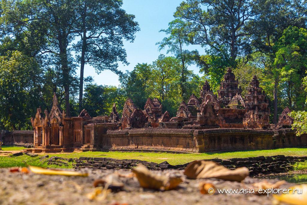 храм Бнтей Срей, Сием Рип, Камбоджа