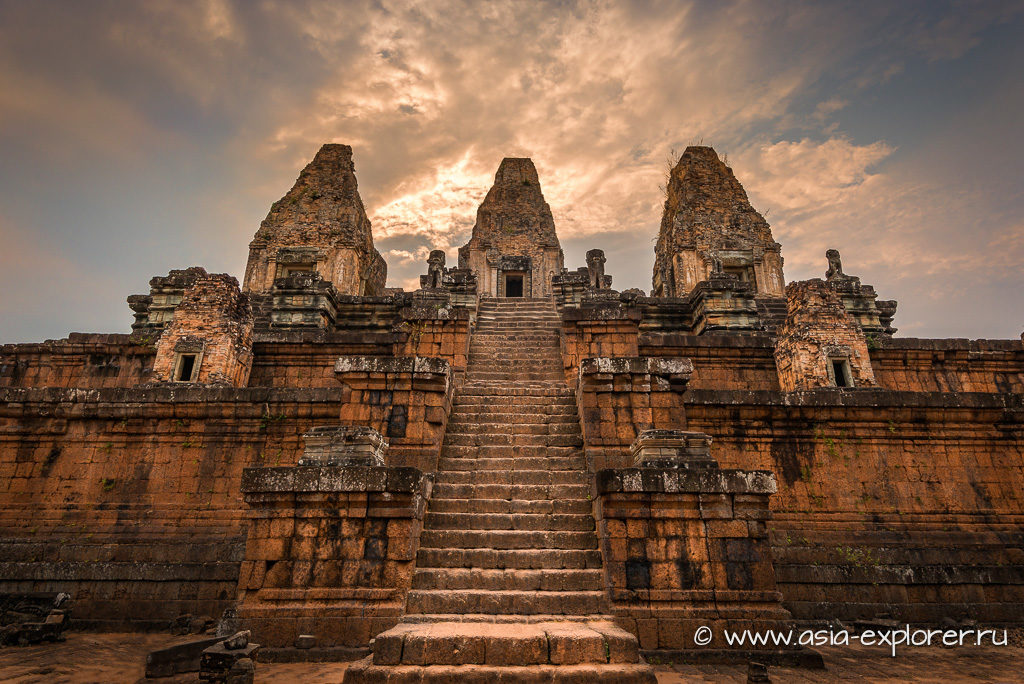 храм Пре Руп в Камбодже