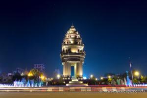 Монумент независимости в Пномпене