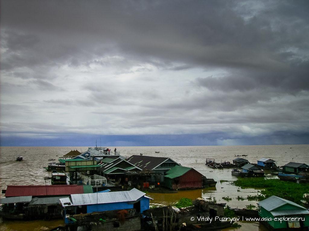 Камбоджа, озеро Тонлесап