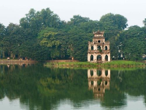 храм на озере Хоан Кием
