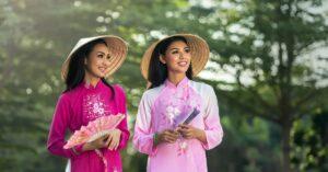 Девушки Вьетнама