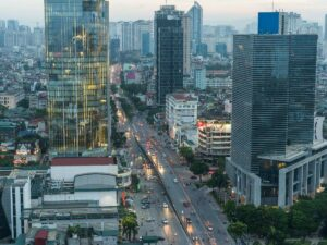 Район Ba Dinh в Ханое